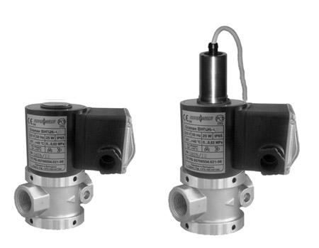 ВН клапаны для сжиженных газов и жидких сред
