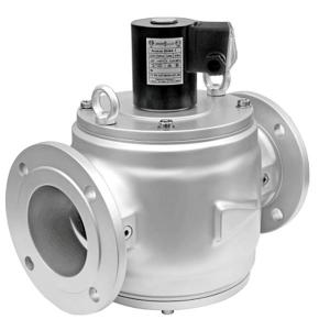 Клапаны электромагнитные двухпозиционные серии ВН с ручным взводом